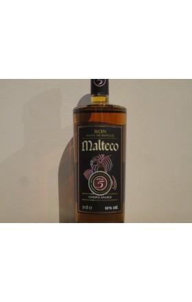 RHUM MALTECO 5 ANS